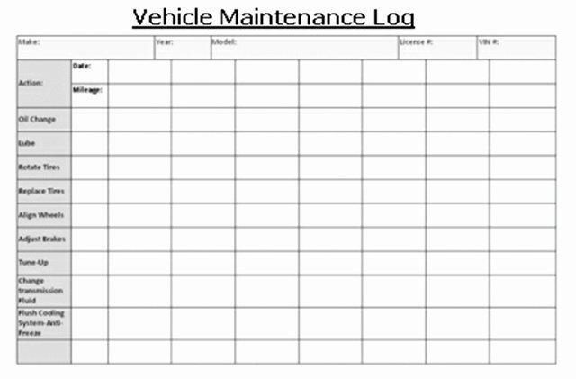 Truck Maintenance Log Template Fresh Vehicle Maintenance Vehicles Lct Magazine