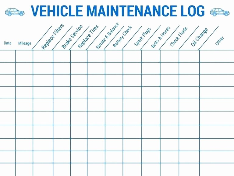 Truck Maintenance Schedule Template Best Of Vehicle Maintenance Plan Template – Bestuniversitiesfo