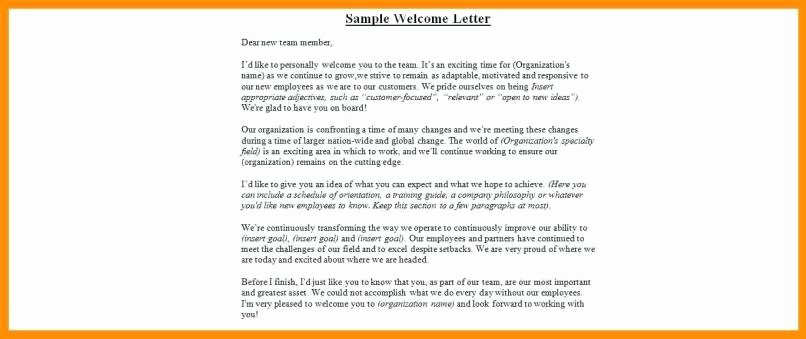 Unauthorized Tenant Letter Template Inspirational Tenant Wel E Letter Sample
