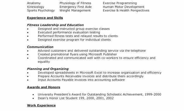 Undergraduate Resume Template Word Inspirational Sample Resume Undergraduate Resume Template Word