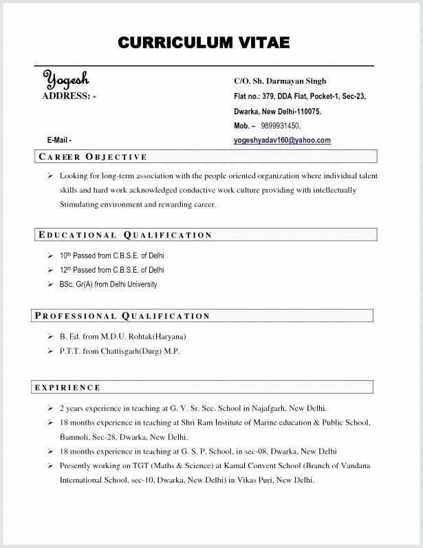 Undergraduate Resume Template Word Luxury Cv Template Undergraduate Student Cv Template T