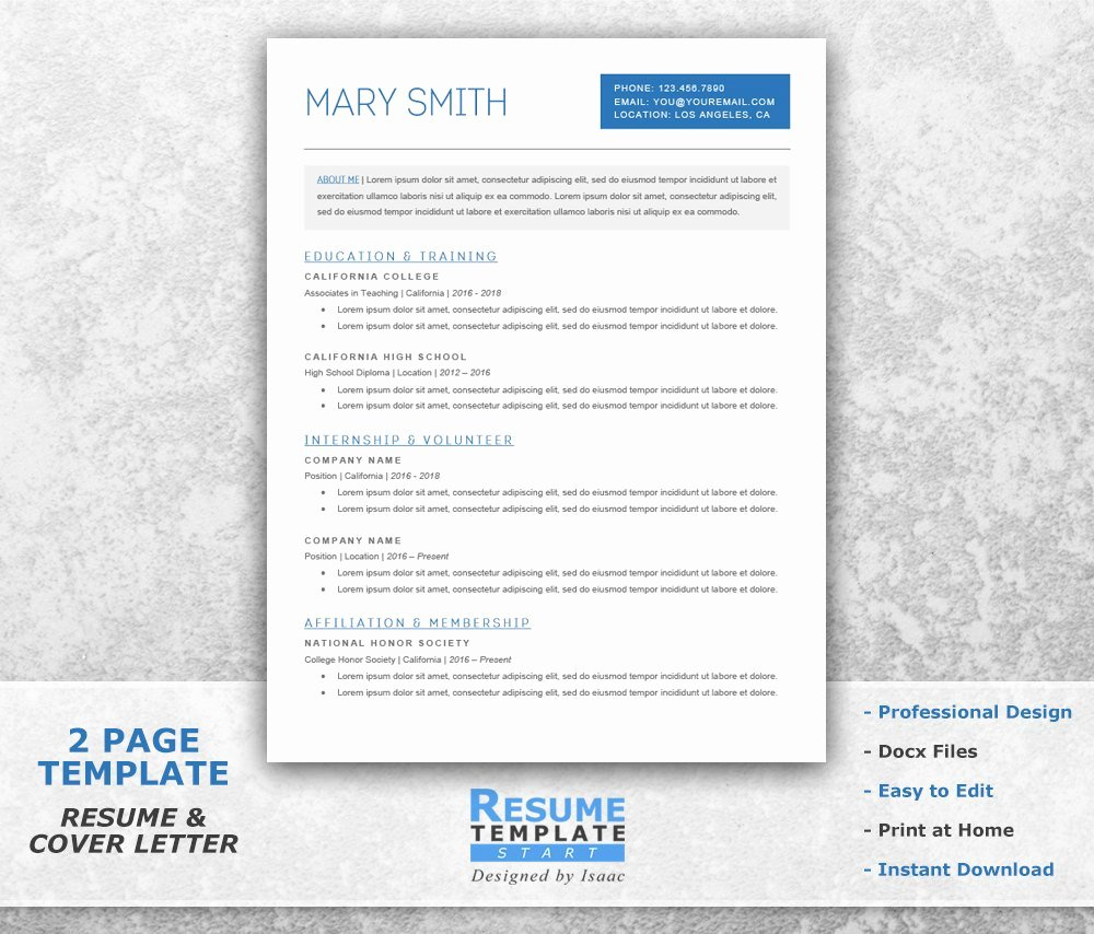 Undergraduate Resume Template Word Unique Student Resume Template Word Academic Resume Template for
