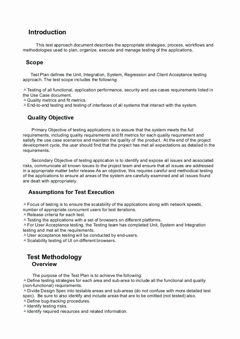 Use Case Documentation Template New Use Case Document Template