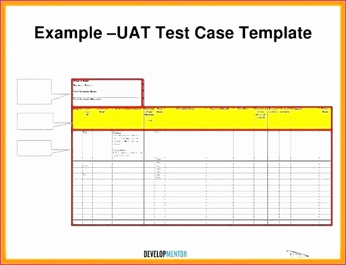 Use Case Testing Template Elegant 88 software Test Template Excel software Test Plans