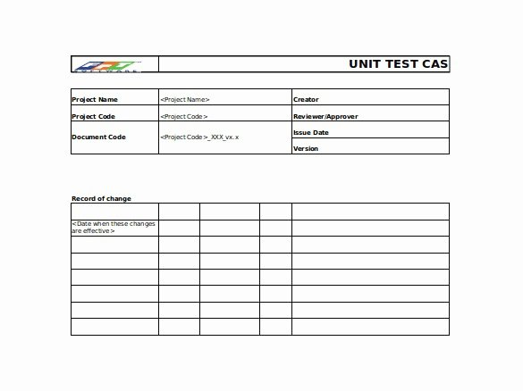Use Case Testing Template New 26 User Acceptance Testing Template Free