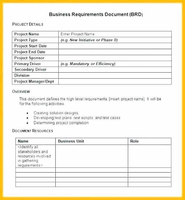 Use Cases Document Template Awesome software Use Case Document Template