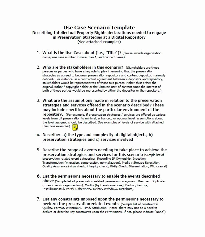 Use Cases Document Template Unique 40 Use Case Templates & Examples Word Pdf Template Lab