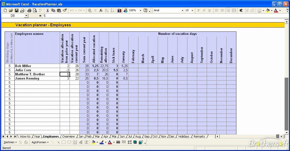 "Vacation Calendar Template 2015 Elegant Search Results for ""vacation Calendar Excel Template for"
