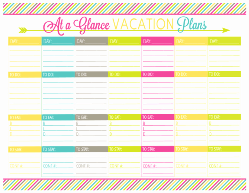 "Vacation Calendar Template 2015 Inspirational Search Results for ""vacation Planner Printable"" – Calendar"