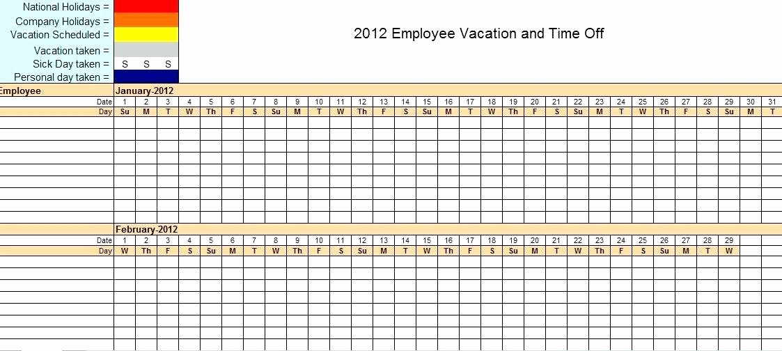 Vacation Calendar Template 2017 Beautiful Excel Vacation Calendar Template Annual Leave – Jjbuilding