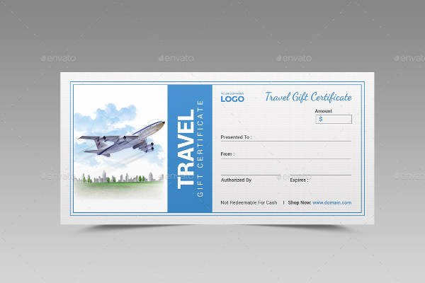 Vacation Gift Certificate Template Beautiful 56 Gift Certificate Templates