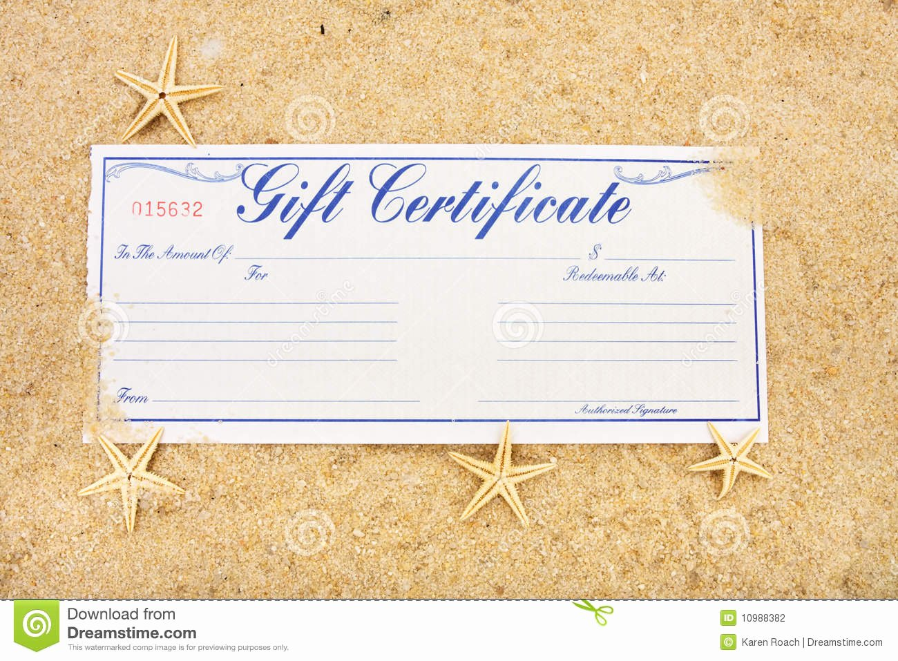 Vacation Gift Certificate Template Best Of Vacation Gift Certificate Stock Photo Image Of Shopping