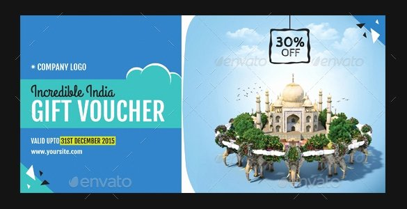 Vacation Gift Certificate Template Fresh 19 Travel Voucher Template Free Psd Eps format