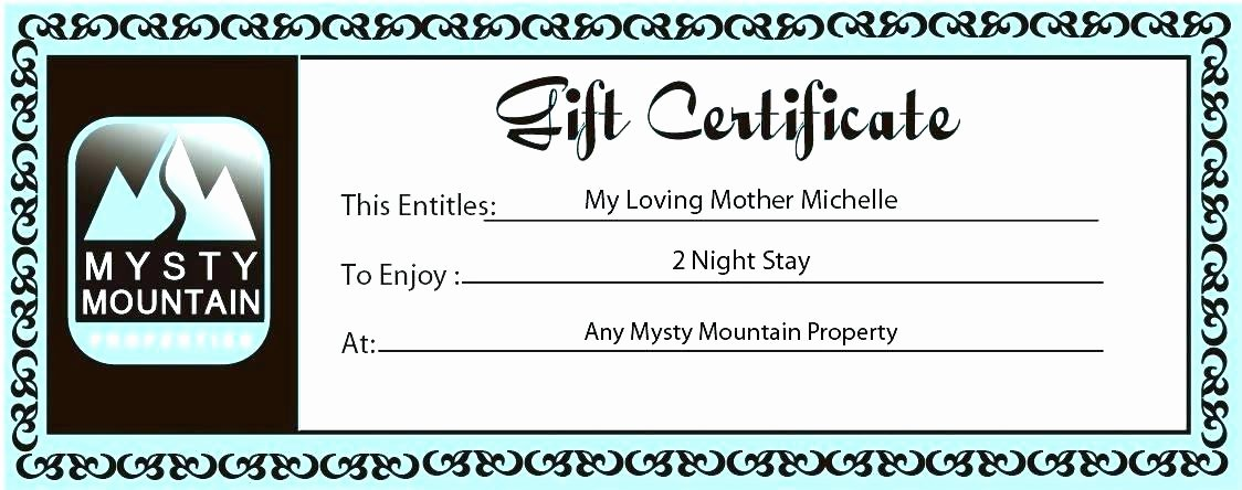 Vacation Gift Certificate Template Fresh Congratulations Certificates Templates Free Fresh Template