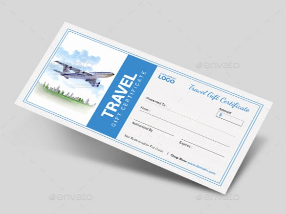 Vacation Gift Certificate Template Inspirational 9 Travel Gift Certificate Templates Doc Pdf Psd