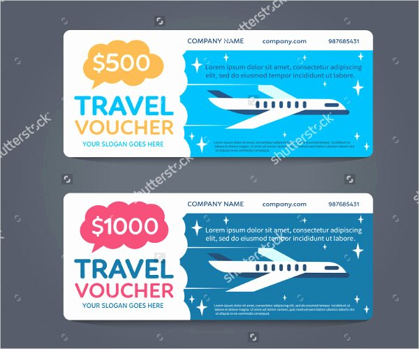 Vacation Gift Certificate Template Luxury 96 Vacation Voucher Template Gift Vouchers islands In
