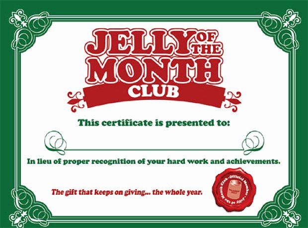 Vacation Gift Certificate Template New Download and Print Your 'jelly Of the Month Club