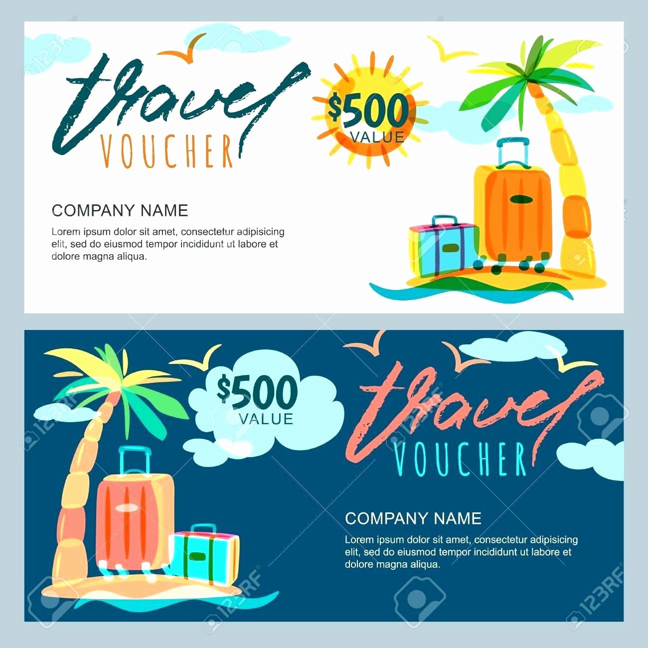Vacation Gift Certificate Template Unique Template Vacation Gift Certificate Template