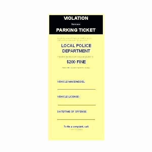 Valet Parking Ticket Template Elegant Free Valet Ticket Template towing tow Truck