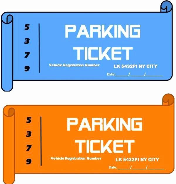Valet Parking Ticket Template Lovely Custom Food Roll Ticket Samples Valet Parking Tag Template