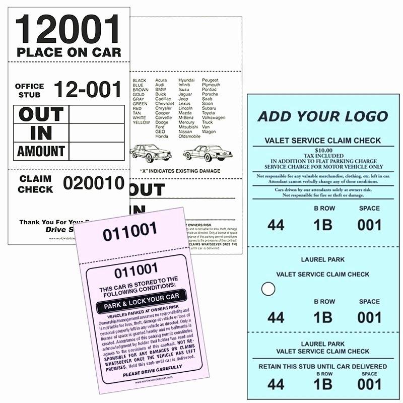 Valet Parking Ticket Template New Parking Ticket Template Uk Printable – Tatilvillam