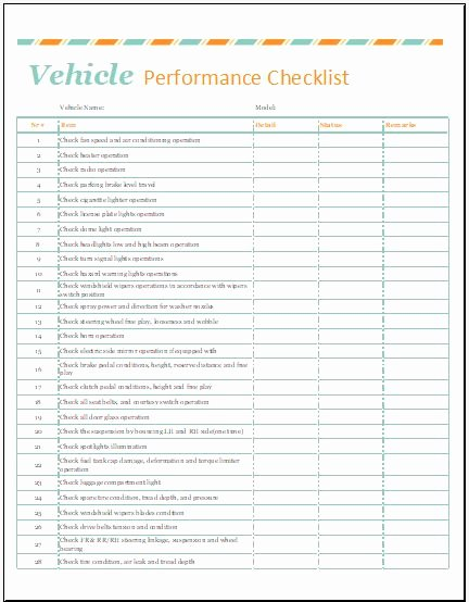 Vehicle Condition Report Template Awesome Automobile Condition Report Template for Ms Excel