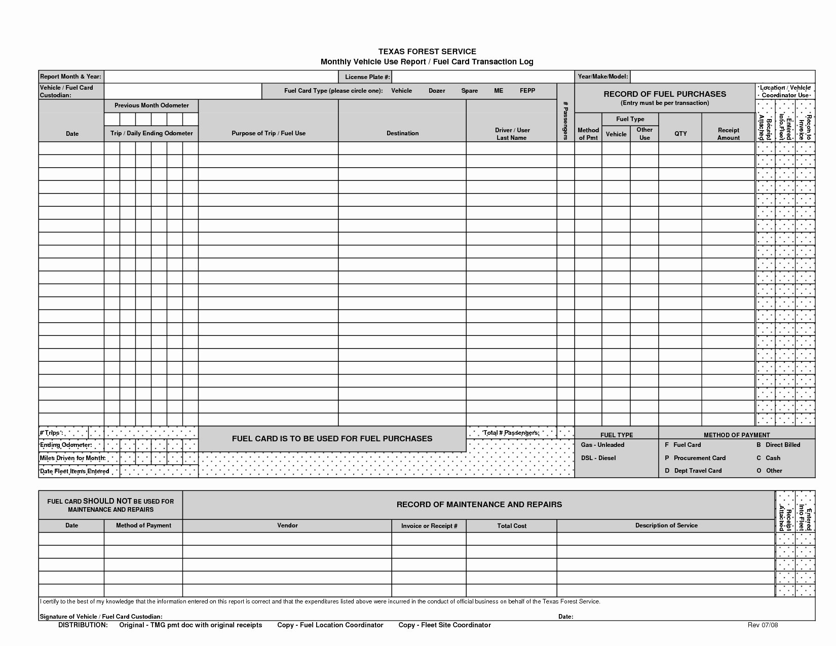 Vehicle Maintenance Log Excel Template Best Of 10 Awesome Dot Log Sheet Template Davidklinghoffer