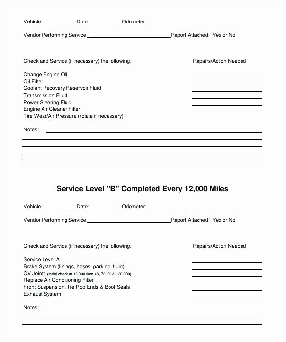 Vehicle Maintenance Schedule Template Fresh Building Maintenance Plan Template Free Download Schedule