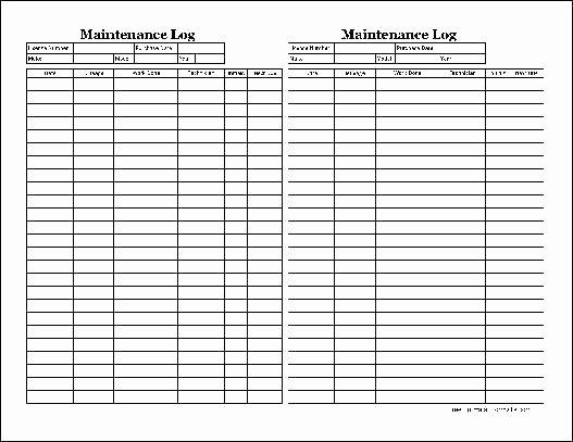 Vehicle Preventive Maintenance Schedule Template Awesome Vehicle Maintenance Sheet Template Preventive Schedule