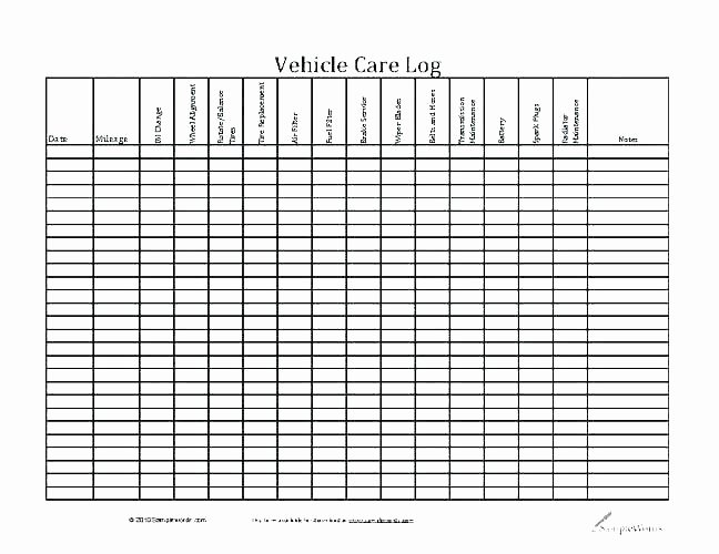 Vehicle Preventive Maintenance Schedule Template New Facilities Maintenance Schedule Template Free Fleet