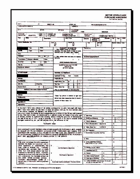 Vehicle Purchase order Template Unique Kar Kare Auto Dealer Sales Supplies and Products