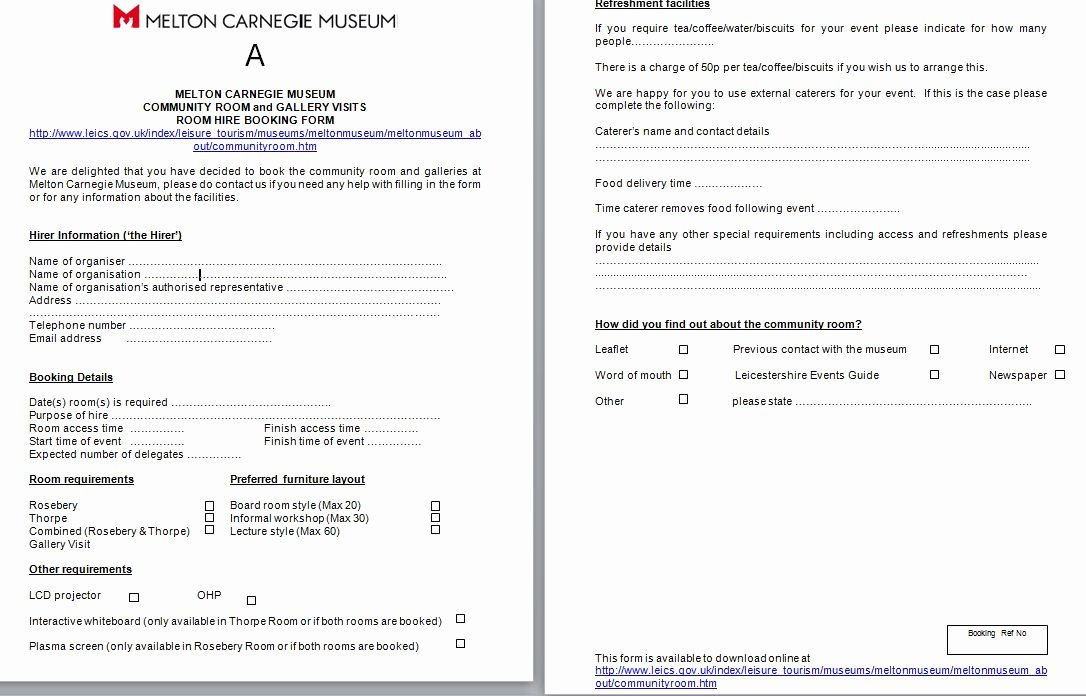 Venue Rental Agreement Template Best Of Model Examples Of Venue Hire Agreement In Word and Pdf