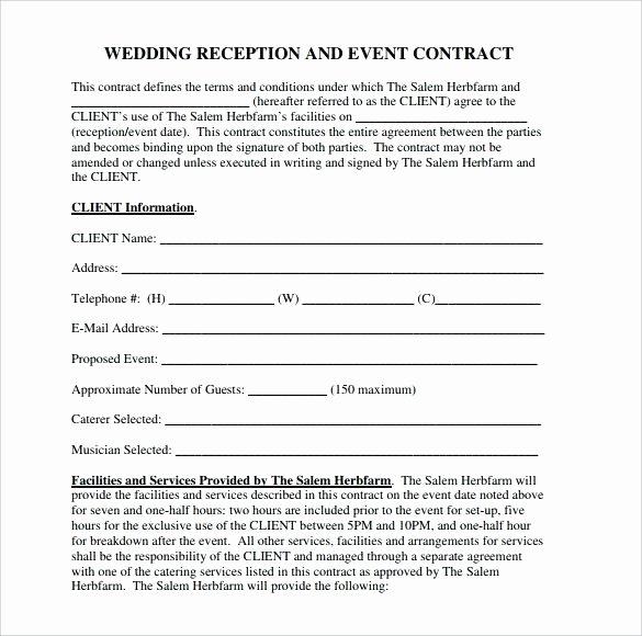 Venue Rental Agreement Template Elegant Venue Hire Agreement Template Model Examples In Word
