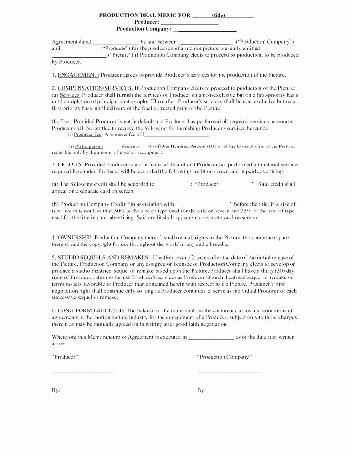 Video Editing Contract Template Awesome Video Contract Template – Psychicnights