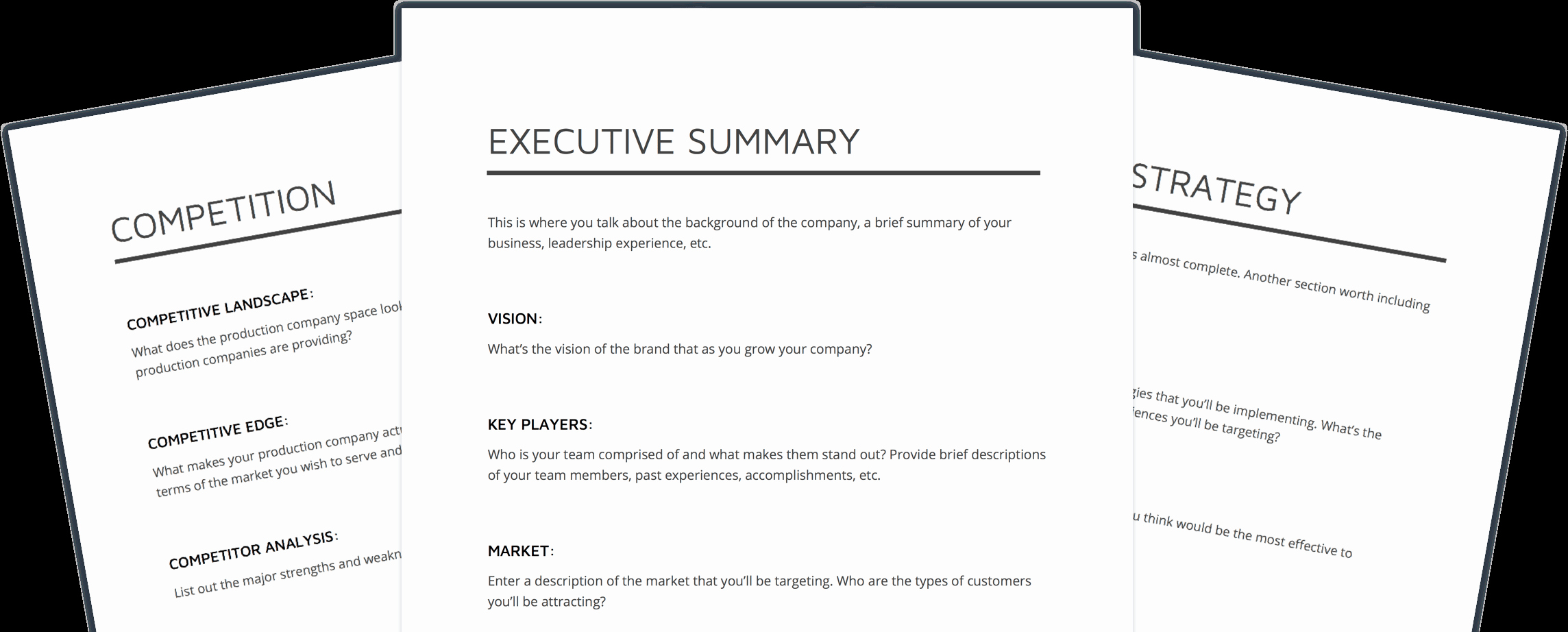 Video Production Plan Template Luxury How to Make A Production Pany Business Plan [free Template]