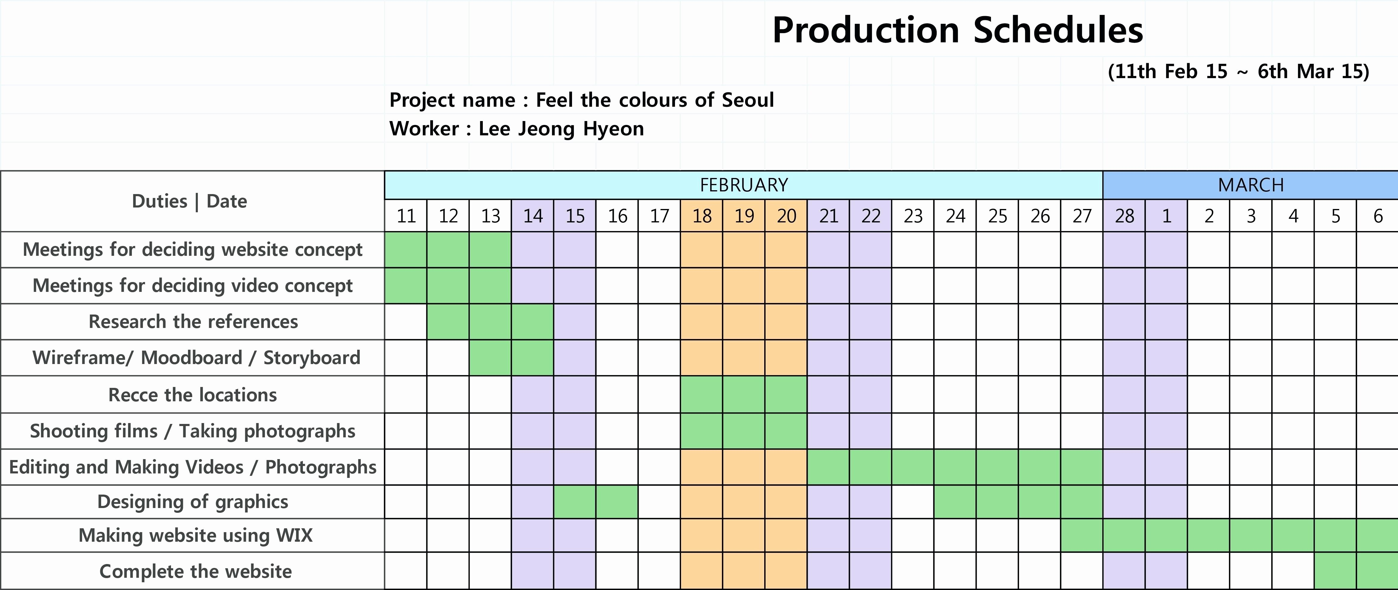 Video Production Schedule Template Lovely Download Gantt Chart Example Research