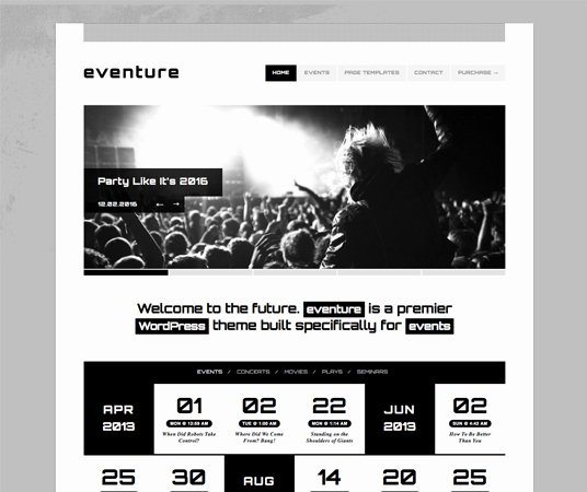 Video Production Web Template Awesome 20 Beautiful events Production Website Templates