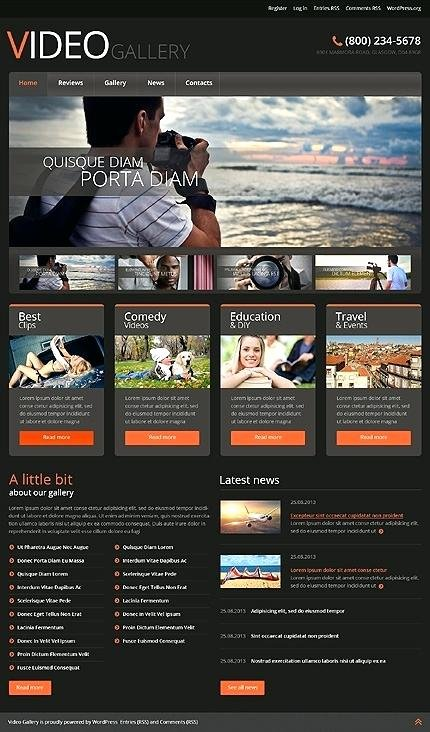 Video Production Web Template Awesome Production Pany Website Template events Production