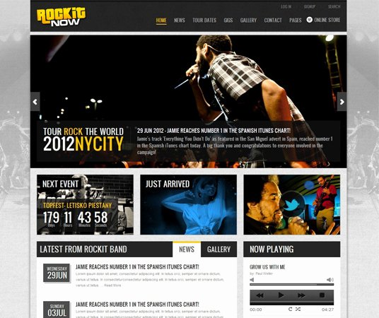 Video Production Web Template Beautiful 20 Beautiful events Production Website Templates