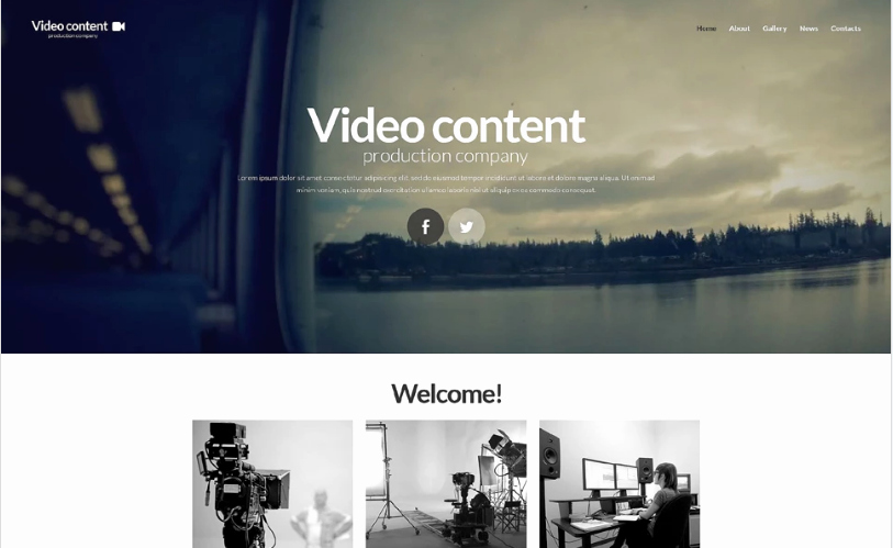Video Production Web Template Elegant 20 Best Media HTML Website Templates 2018 Wpshopmart