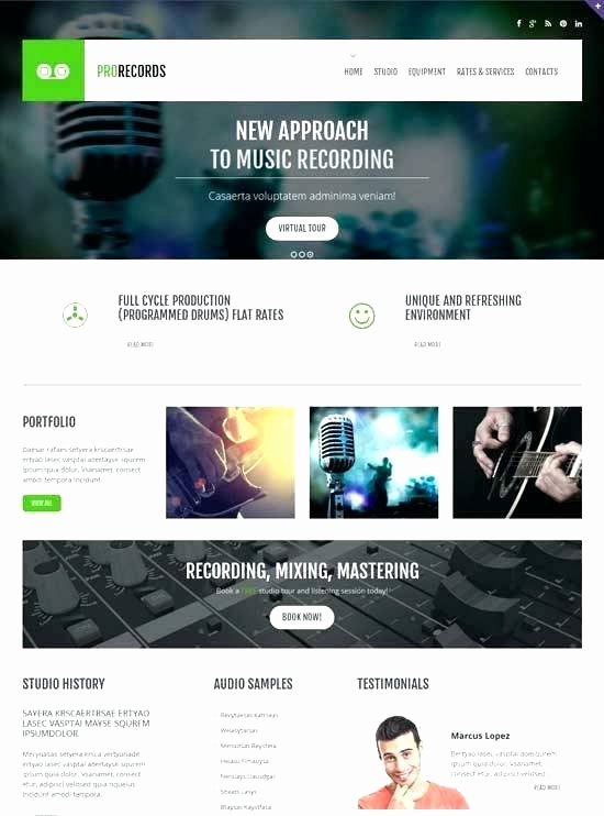 Video Production Web Template Elegant Best Video themes Updated Production Website Template Free