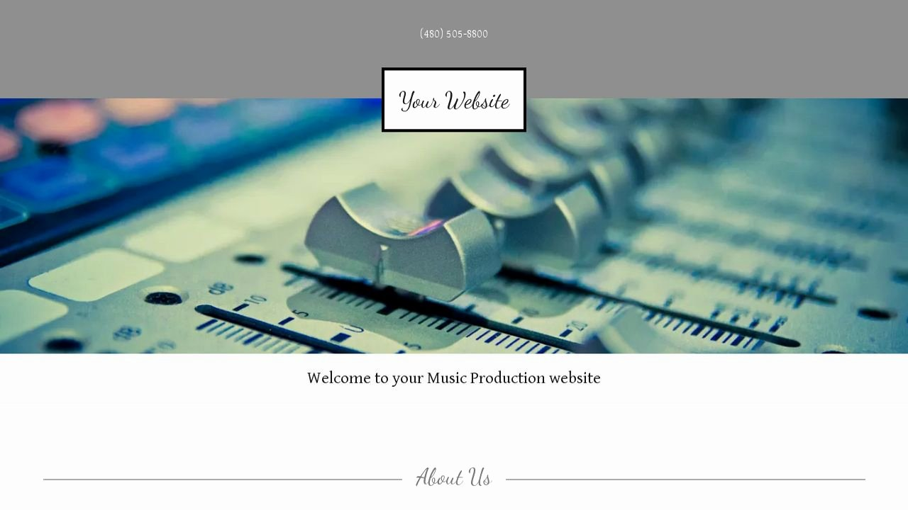 Video Production Web Template Fresh Music Production Website Templates