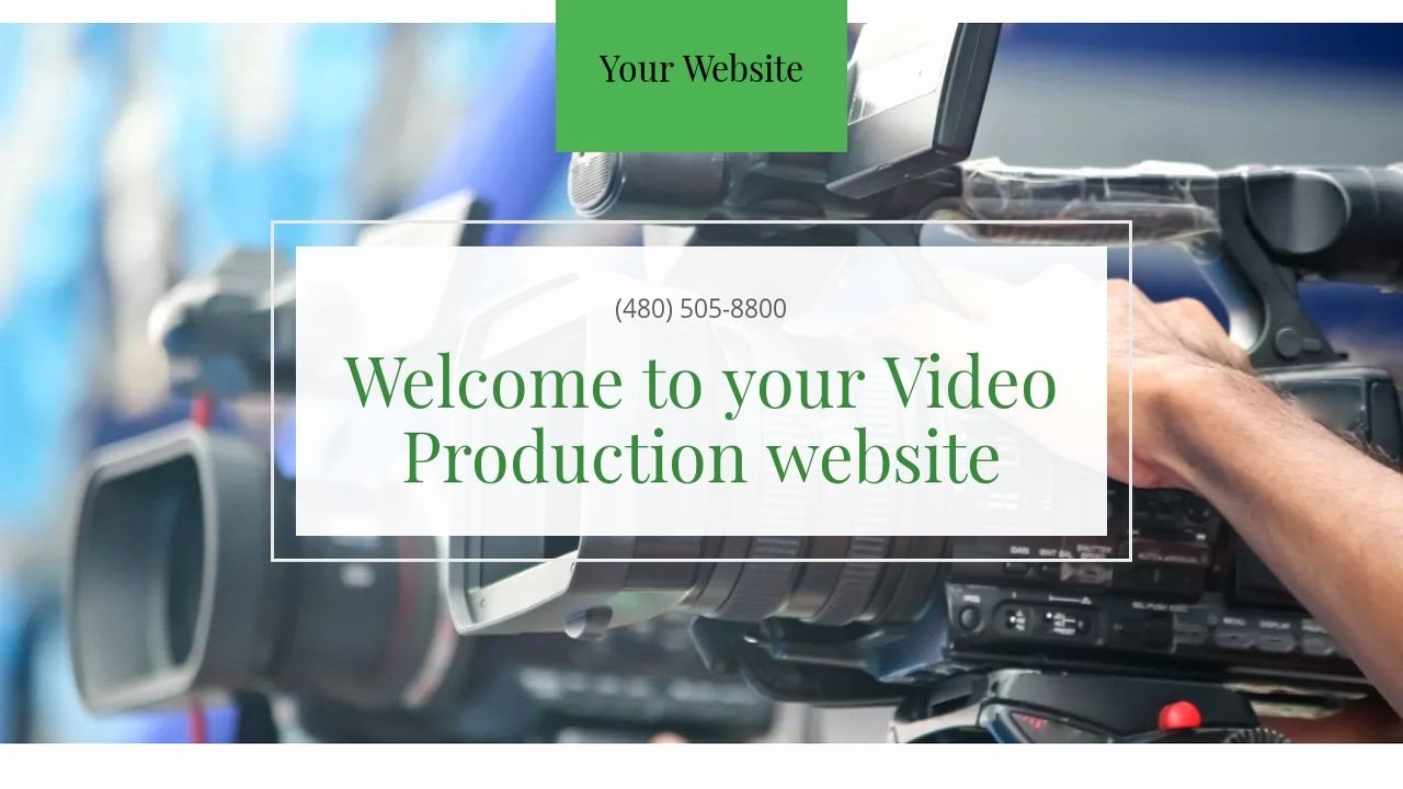 Video Production Web Template Inspirational Example 18 Video Production Website Template