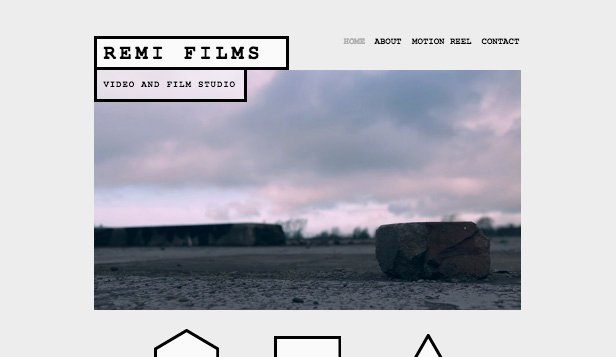 Video Production Web Template Lovely Video Production Wix Template