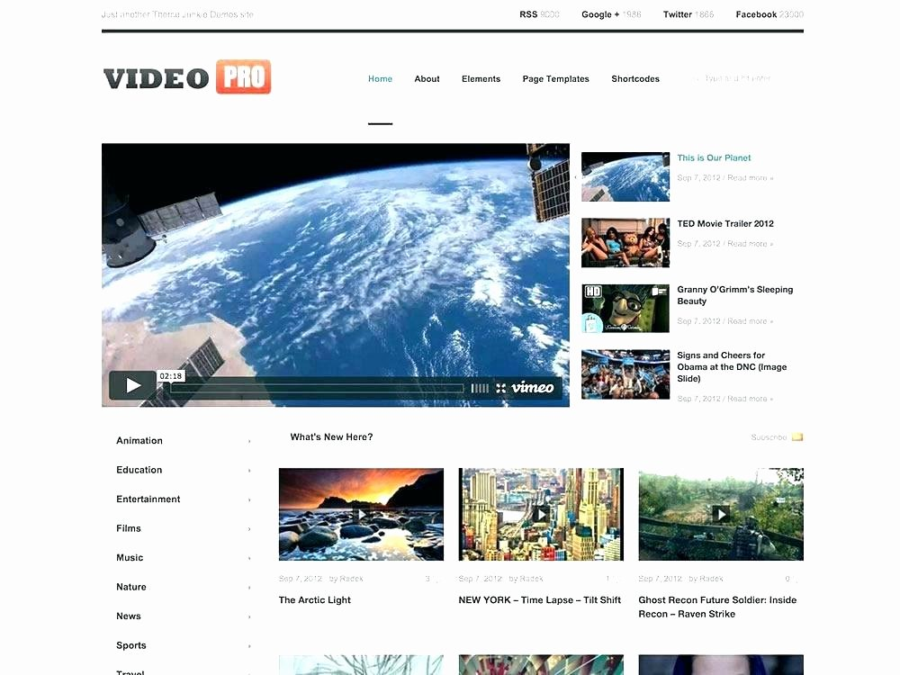 Video Production Web Template Unique Video Website Templates Free Download Template How to