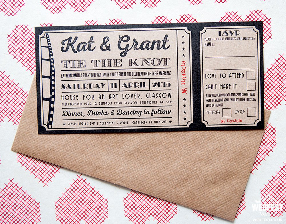 Vintage Movie Ticket Template Beautiful Vintage Cinema Ticket Wedding Invites and Wedding