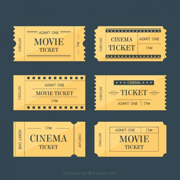 Vintage Movie Ticket Template Elegant 20 Free Coupon and Gift Voucher Templates Vector Download