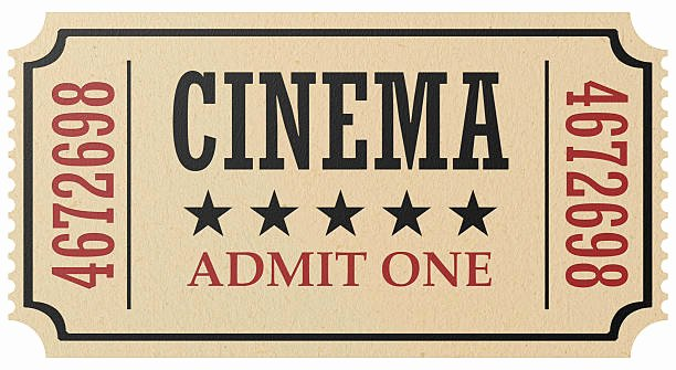 Vintage Movie Ticket Template Luxury Royalty Free Movie Ticket and Stock