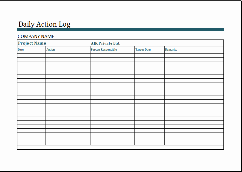 Visitor Log Template Excel Luxury Related Keywords & Suggestions for Monthly Activity Log