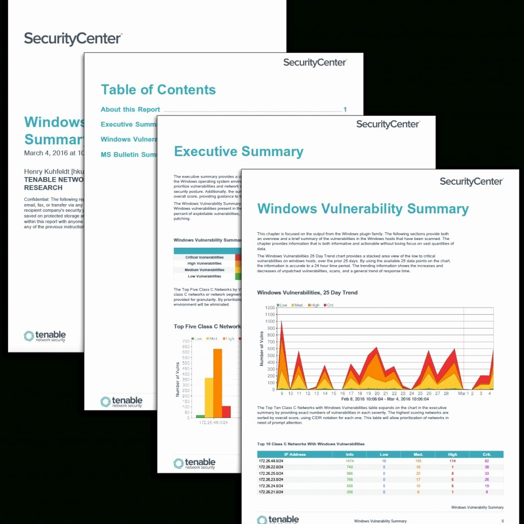 Vulnerability assessment Report Template Beautiful Windows Vulnerability Summary Report Sc Report Template